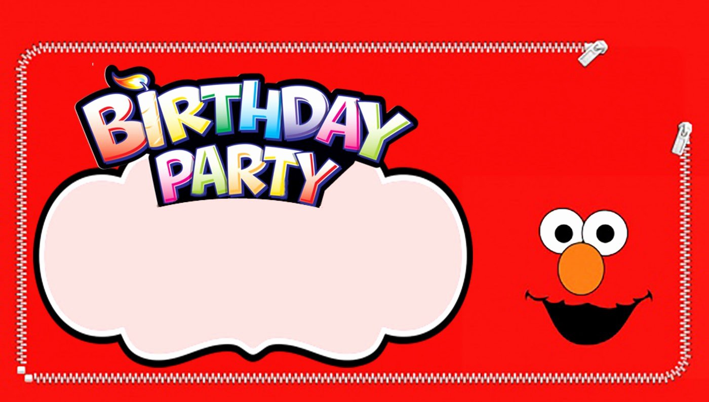 Elmo Birthday Invitation Templates Free Fresh Free Printable Elmo Invitation Templates
