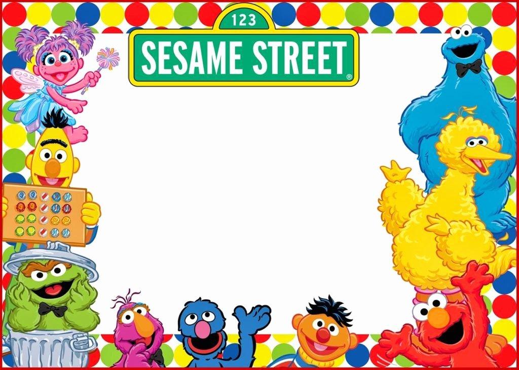 Elmo Birthday Invitation Templates Free Inspirational Elmo and Sesame Street Birthday Party Invitation