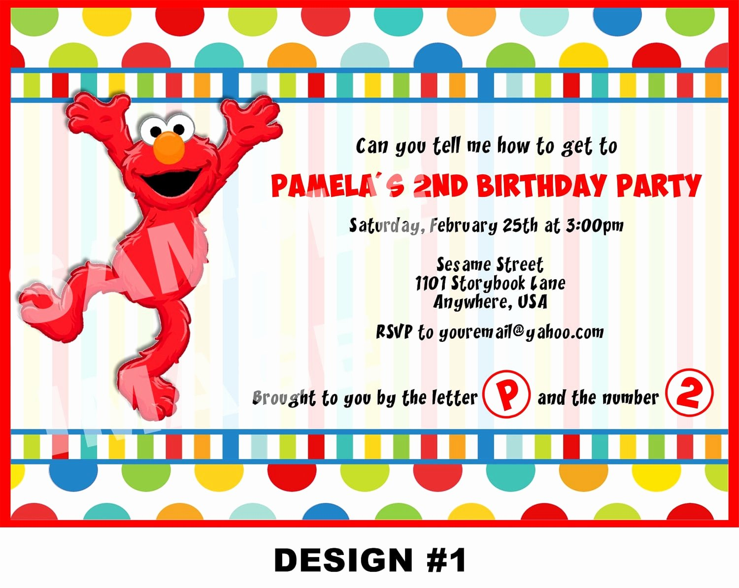 Elmo Birthday Invitation Templates Free Lovely Elmo Birthday Invitation Template