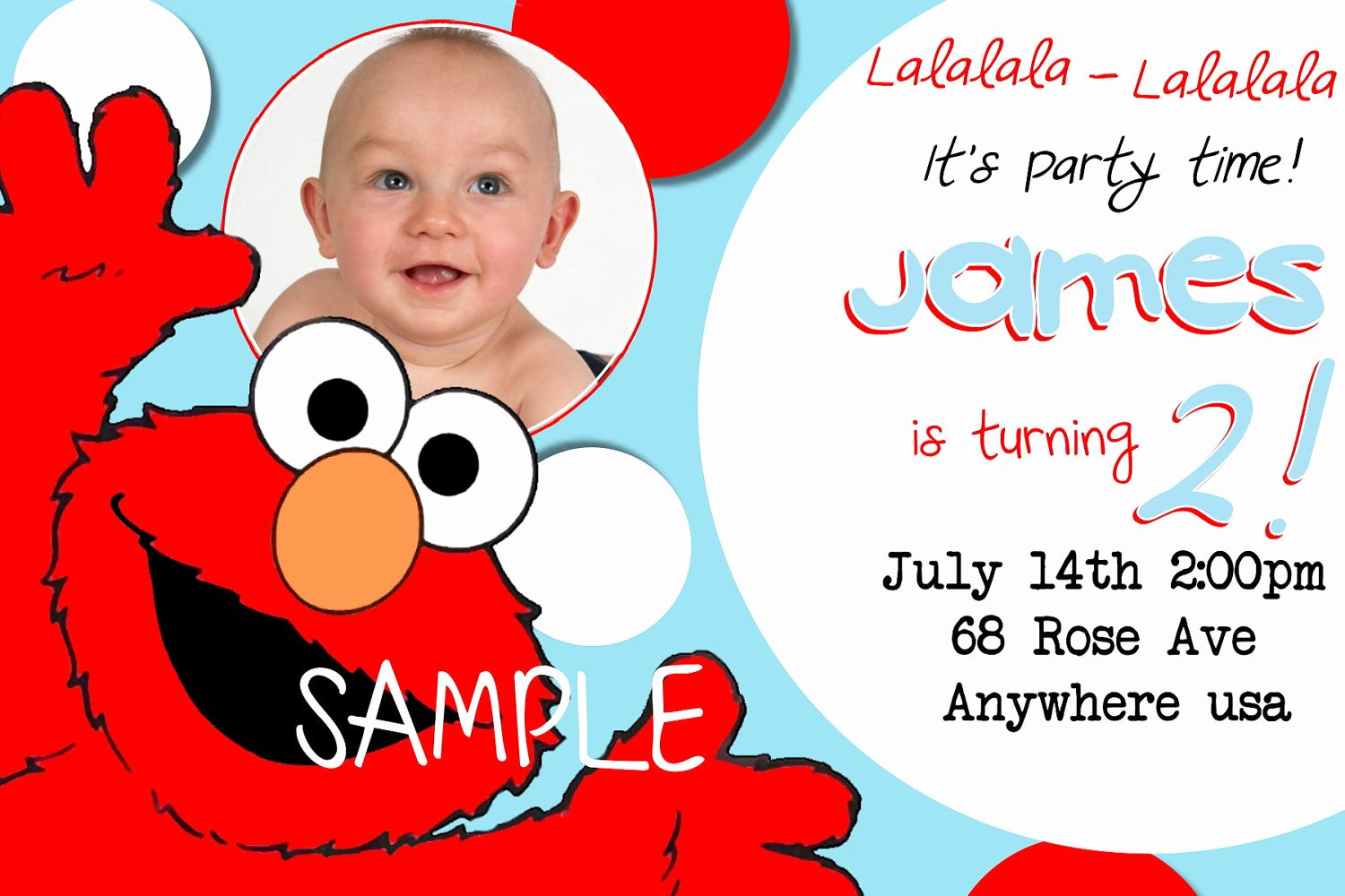 Elmo Birthday Invitation Templates Free New Elmo Birthday Invitations Sesame Street Inspired