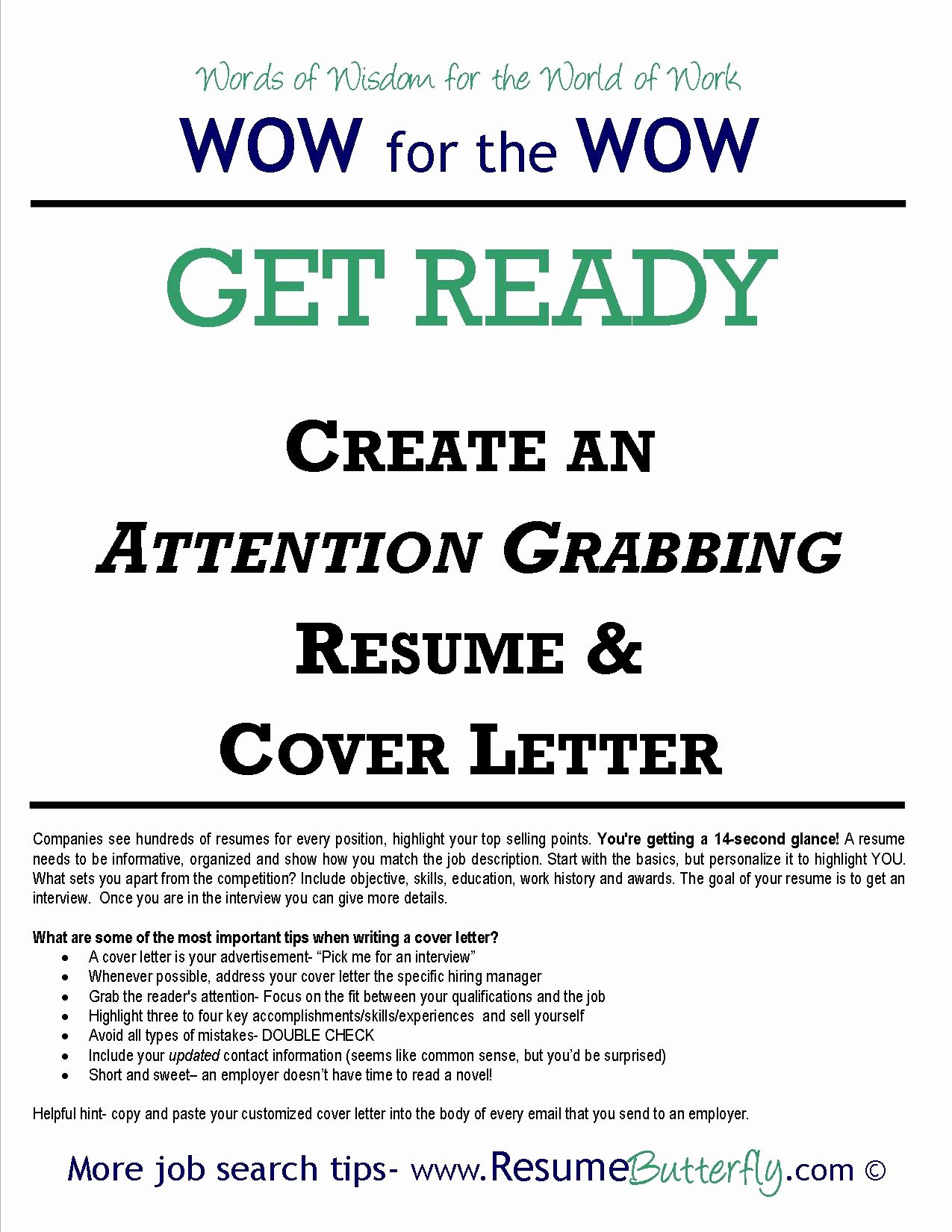 Email Cover Letter for Resume Unique Create An attention Grabbing Resume & Cover Letter