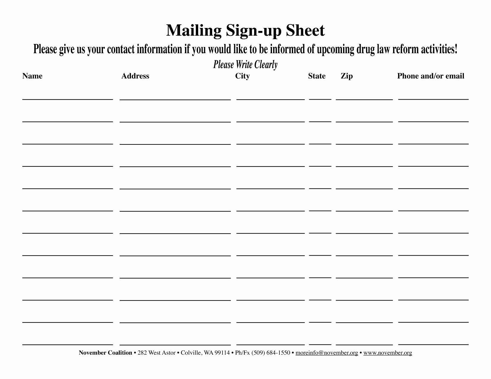 Email Sign In Sheet Best Of Email Opt In Sign Up Sheet Google Search