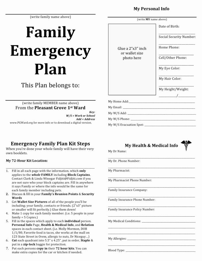 Emergency Action Plan Sample Inspirational Cal Osha Emergency Action Plan Sample Templates Resume