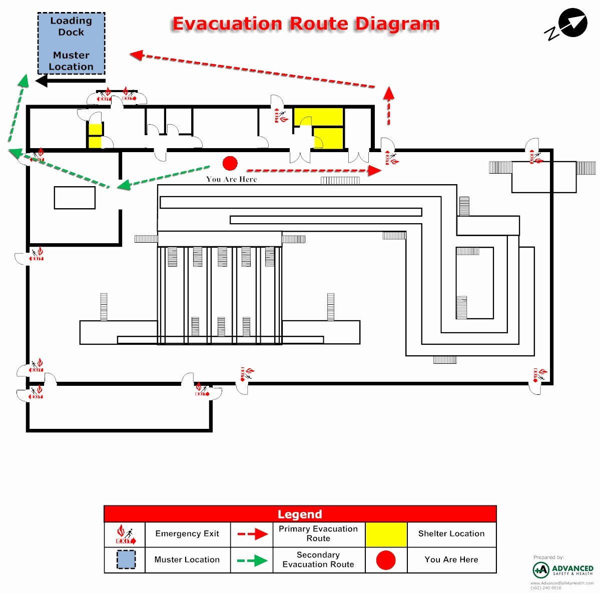 Emergency Action Plan Sample Luxury Emergency Evacuation Maps