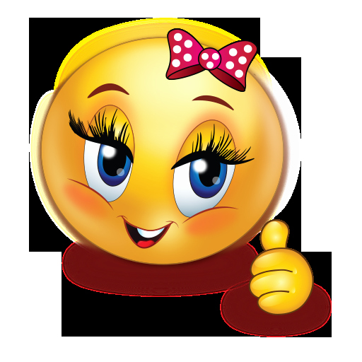 Emoji Art Copy and Paste Elegant Cheer Happy Girl Thumb Up Emoji
