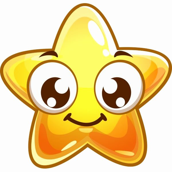 Emoji Art Copy and Paste Unique Smile Star