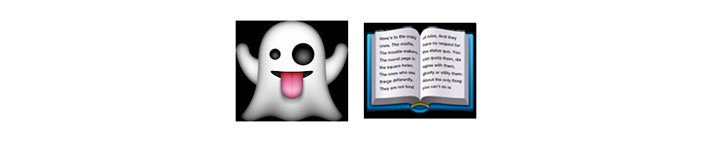 Emoji Stories Copy and Paste Beautiful Ghost Story Emoji Meanings