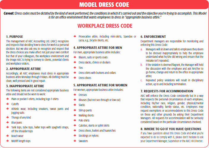Employee Dress Code Policy Sample Awesome Quotes About Dress Code for Work Quotesgram