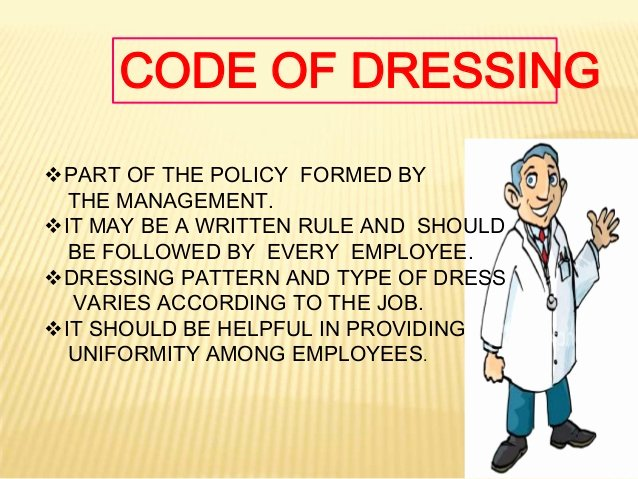 Employee Dress Code Policy Sample Beautiful Dress Code In Hospitals