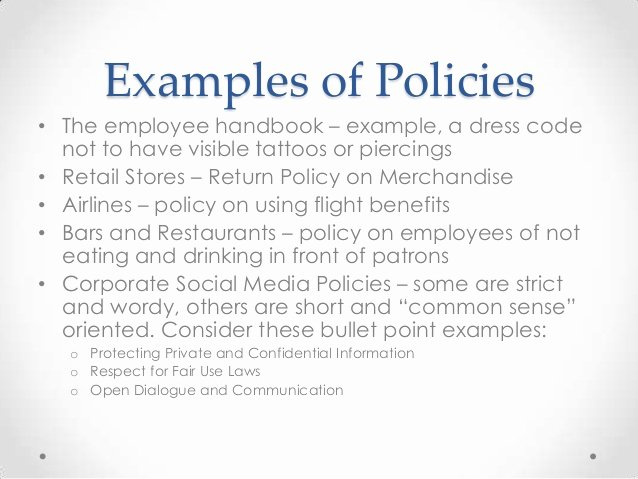 Employee Dress Code Policy Sample New Policies and Contracts Considerations for Businesses