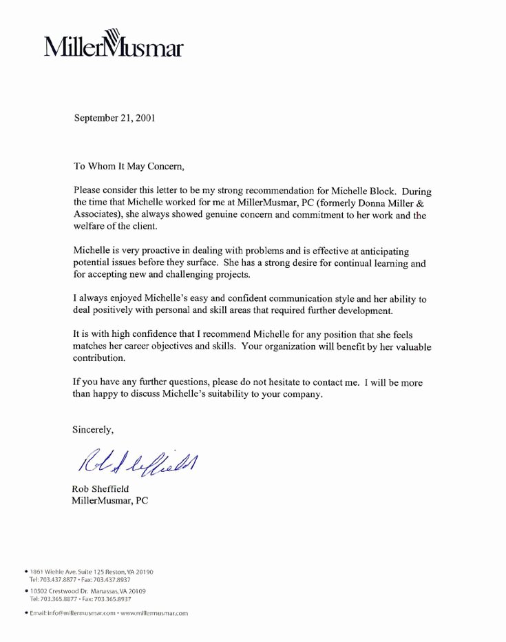 Employee Recommendation Letter Example Lovely Best 25 Employee Re Mendation Letter Ideas On Pinterest