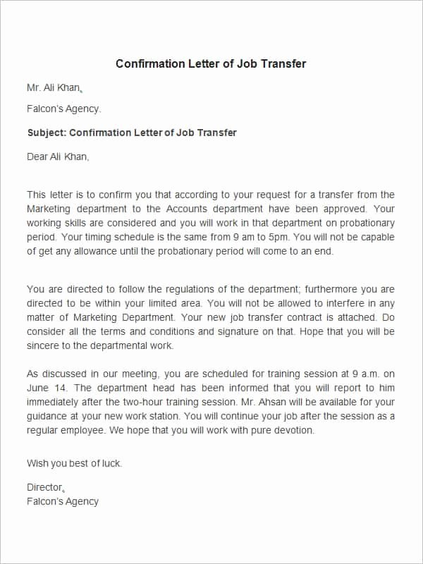 Employee Relocation Agreement Sample Beautiful 44 Transfer Letter Templates Pdf Google Doc Excel