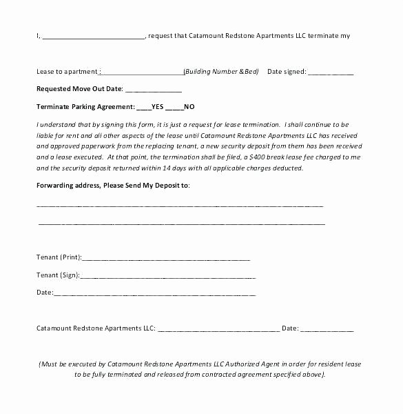 Employee Relocation Agreement Sample Unique Sample Vacate Letter to Tenant – Gulflifa
