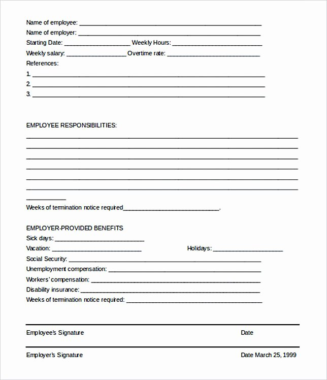 Employment Termination form Template Beautiful 17 Termination Letter Template