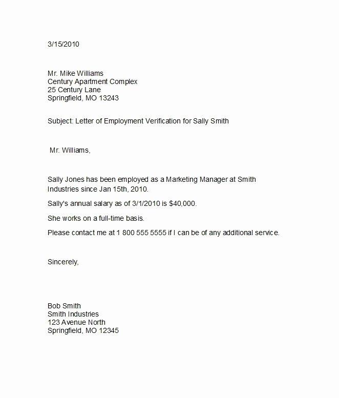 Employment Verification Letter form Beautiful 11 Employee Verification Letter Examples Pdf Word