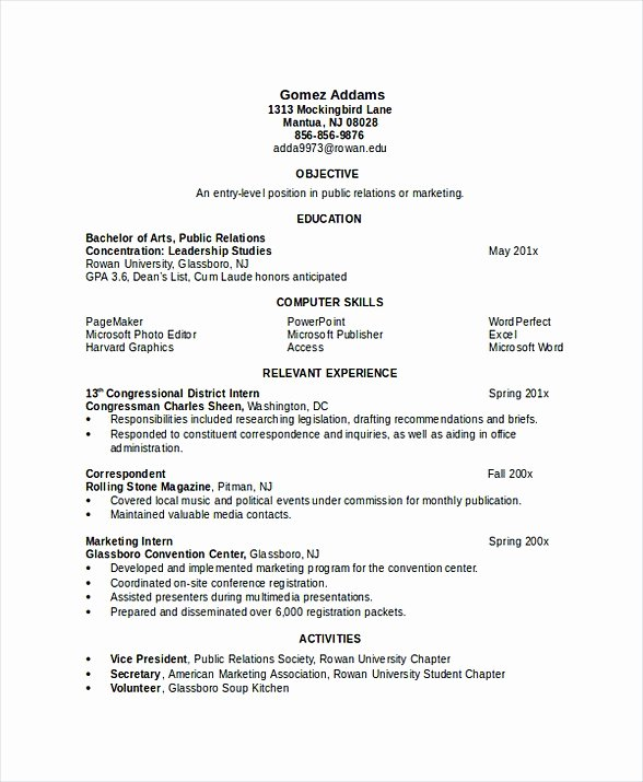 Engineering Student Resume Examples Best Of software Engineering Manager Resume