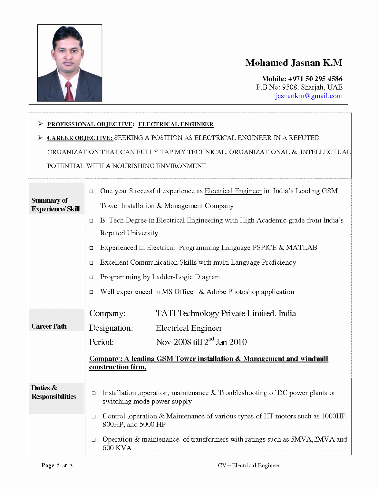 Engineering Student Resume Examples Inspirational Resume Objective Examples Electrical Engineering Tipss
