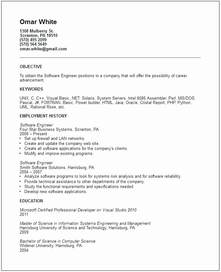 Entry Level Civil Engineer Resume Inspirational 12 13 Electrical Engineering Job Examples