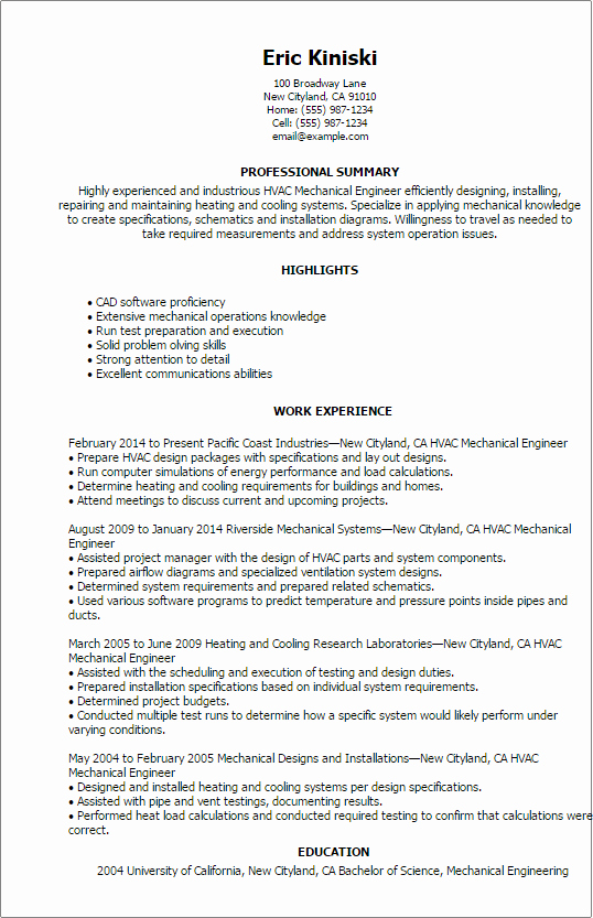 Entry Level Civil Engineer Resume Luxury Resume Mechanical Engineer Resume Sample