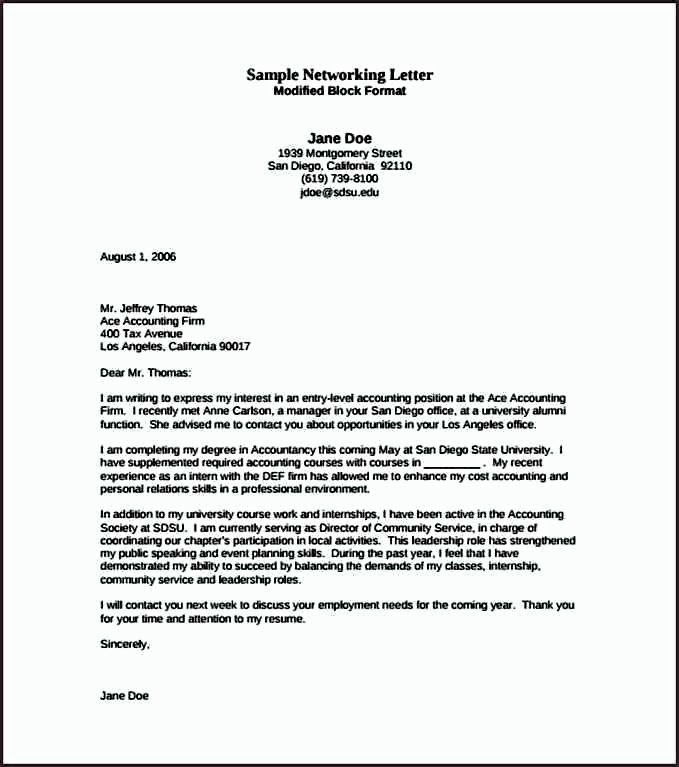 Entry Level Cover Letter Example Fresh Entry Level Cover Letter for Accounting Example Pdf