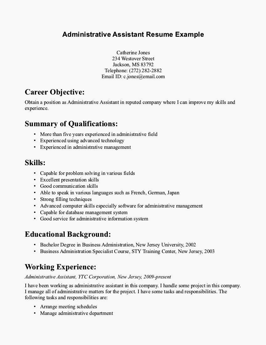 Entry Level Cover Letter Example New Cover Letter for Entry Level