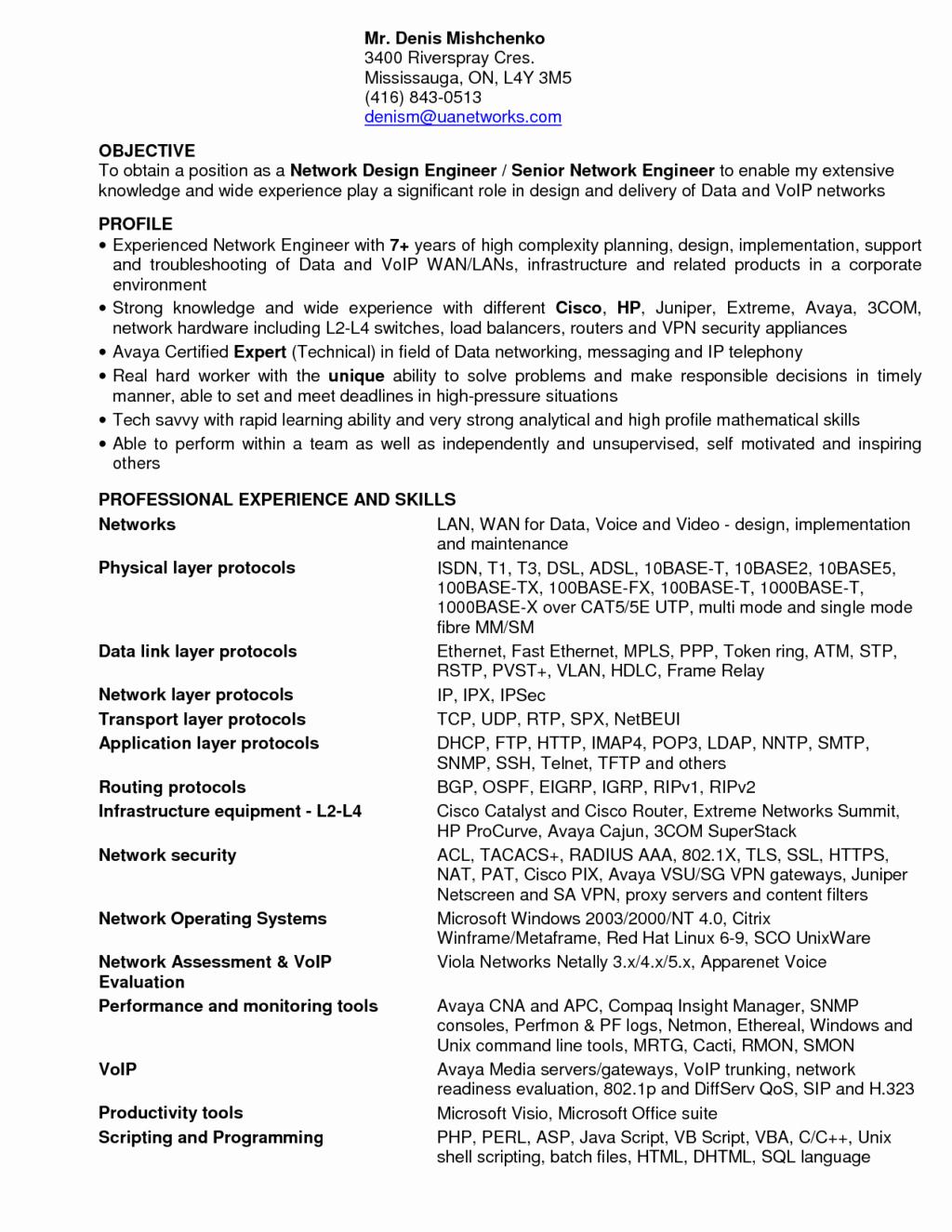 Entry Level Network Engineer Resume Beautiful Employee Performance Improvement Plan Worksheet Employee