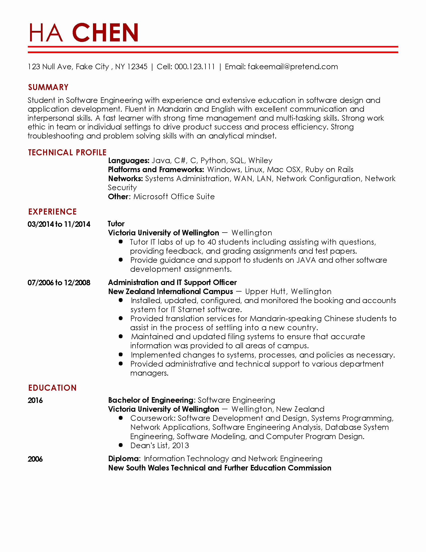Entry Level Network Engineer Resume Inspirational Entry Level software Engineer Resume
