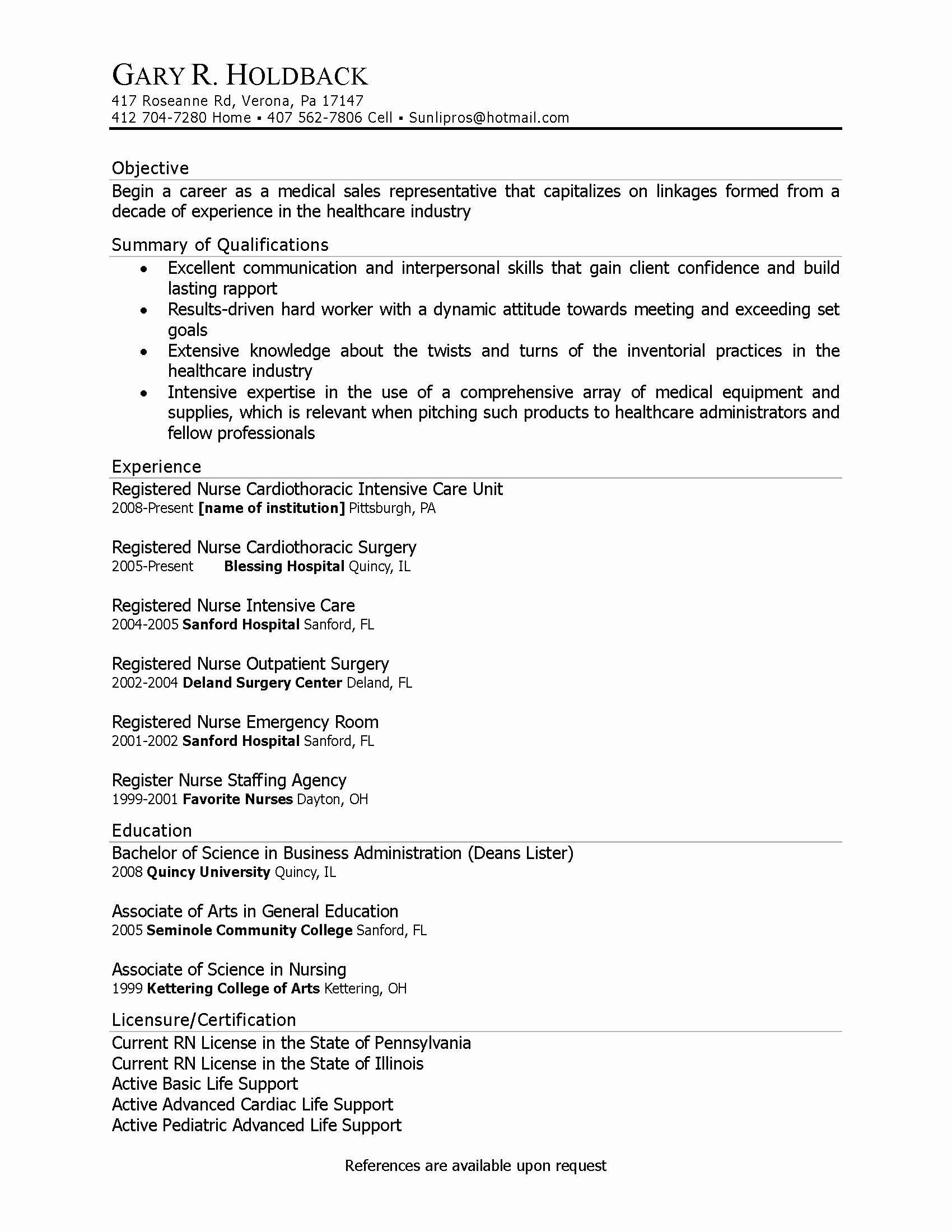 Entry Level Phlebotomy Resume Sample Inspirational 9 10 Phlebotomy Description for Resume