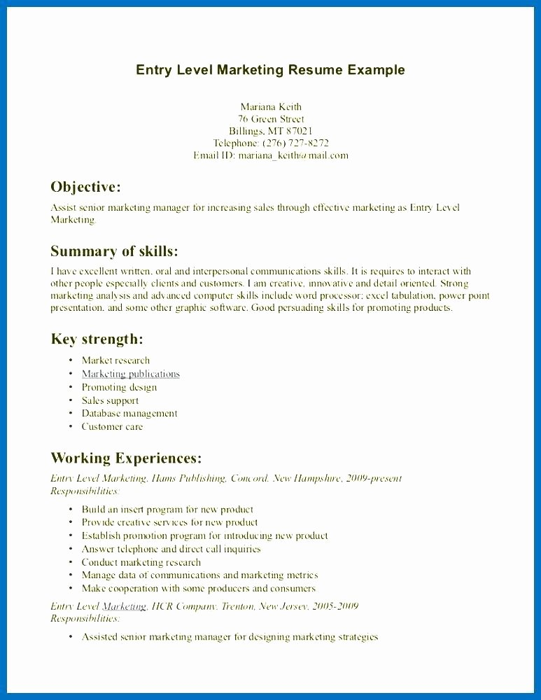 Entry Level Receptionist Resume Beautiful 19 Resume Samples Medical Receptionist