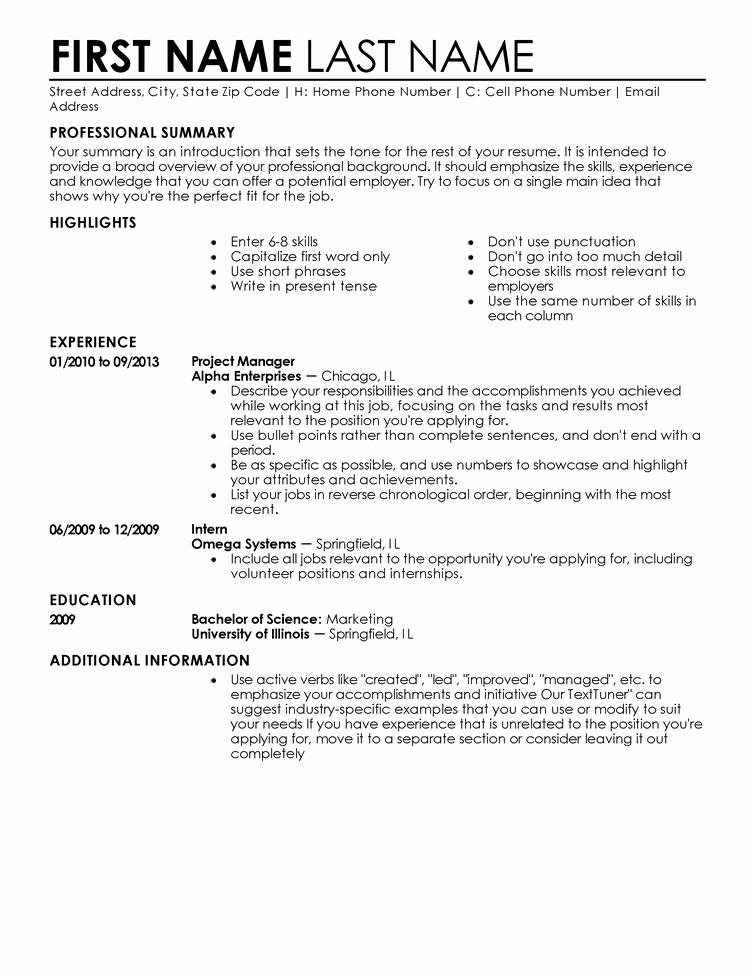 Entry Level Resume High School Beautiful Entry Level Resume Templates to Impress Any Employer