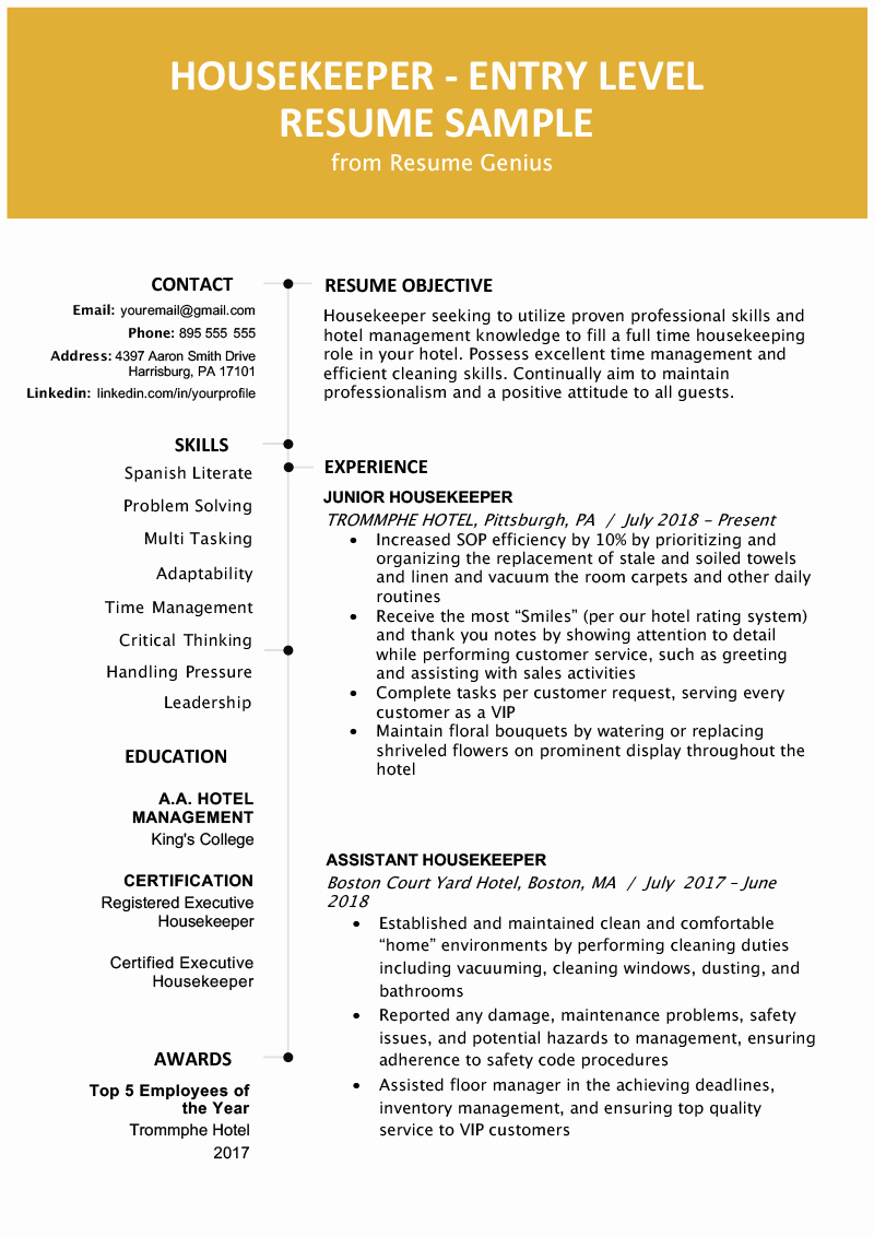 Entry Level Resume High School Lovely Entry Level Resume Samples High School Graduate for