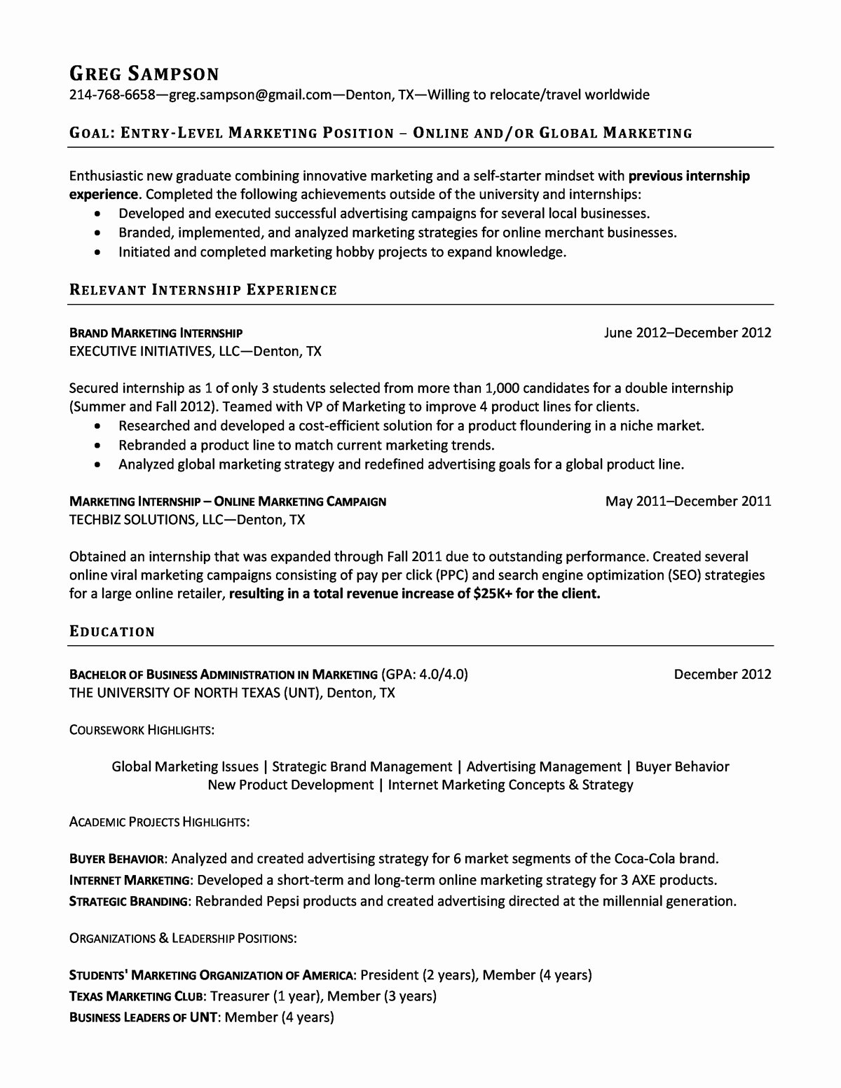 Entry Level Resume High School Luxury Entry Level Resume Samples High School Graduate for