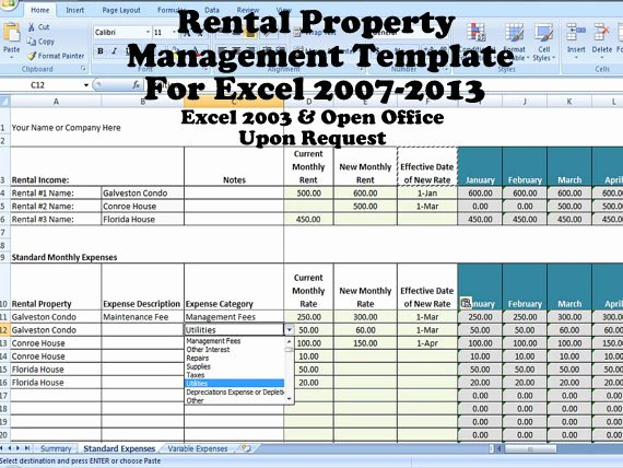 Estate asset Inventory Worksheet Beautiful Rental In E and Expense Excel Spreadsheet Property