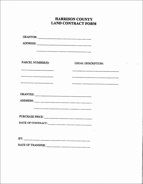 Example Of A Land Contract New Basics Of Land Contracts How It Works and the Information