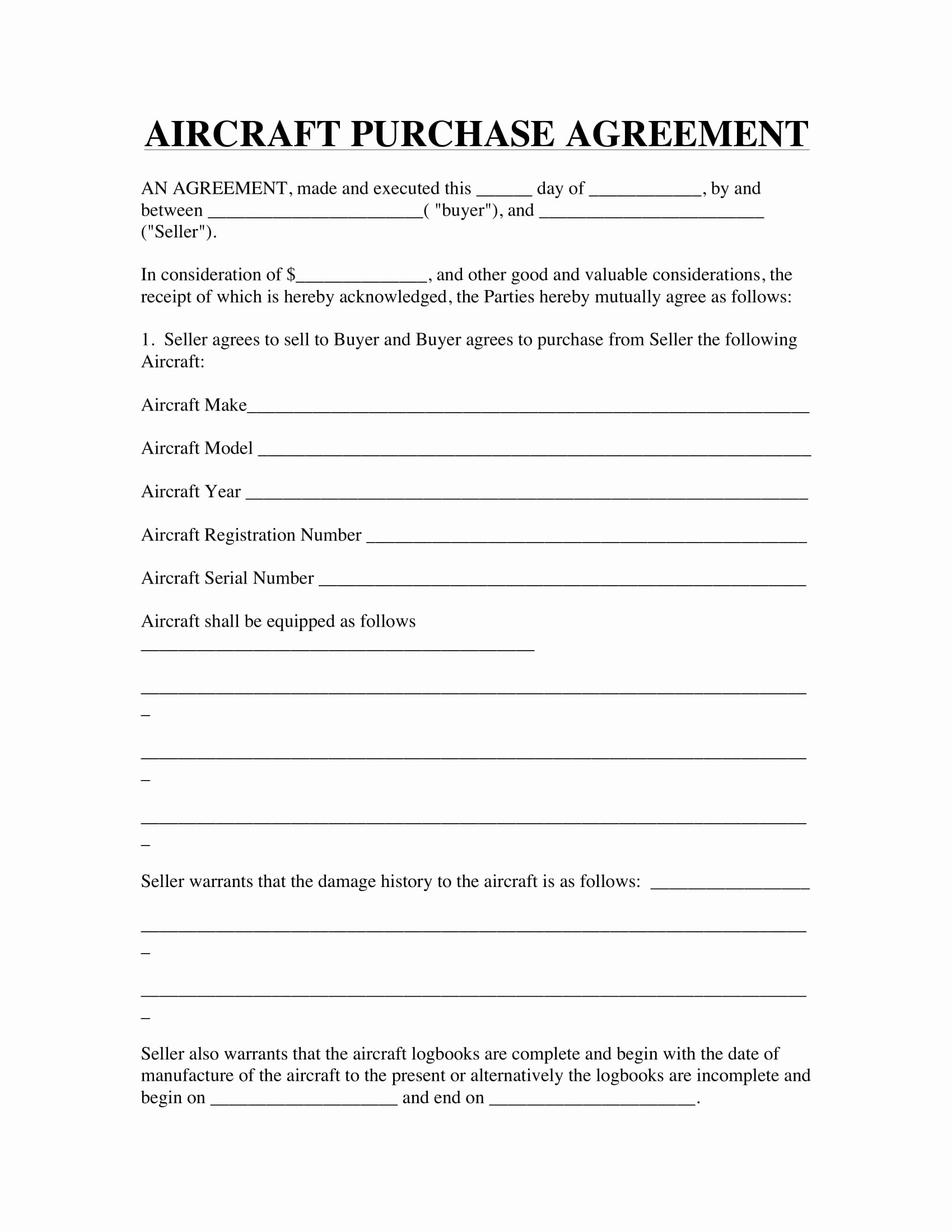 Example Of A Purchase Agreement Elegant 27 Purchase Agreement Examples Pdf Word