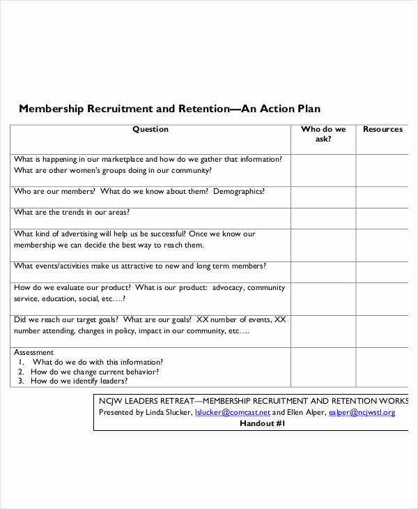 Example Of Action Plan Beautiful Free 55 Action Plan Examples In Pdf Word