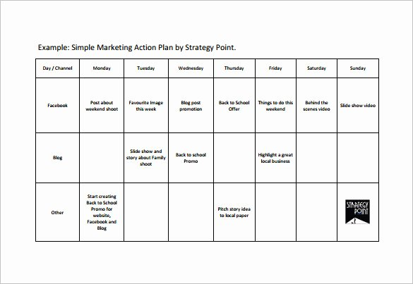 Example Of Action Plan Fresh Simple Action Plan Template 21 Free Sample Example
