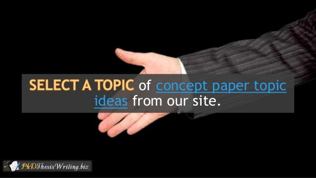 Example Of Concept Paper Best Of Concept Paper Best Examples