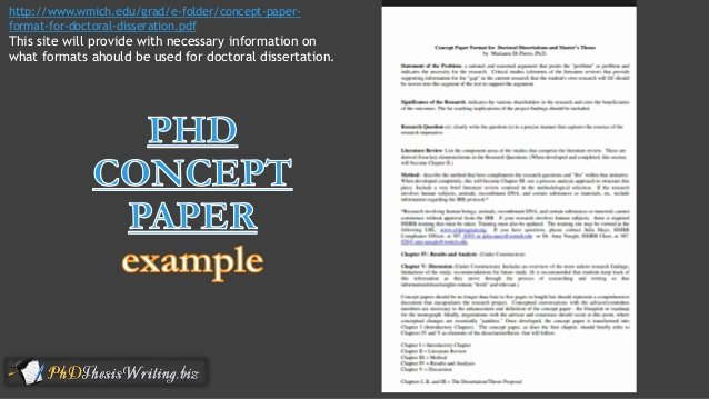 Example Of Concept Paper Luxury Phd thesis Concept Paper