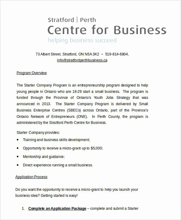 Example Of Concept Paper New 11 Business Paper Templates Free Sample Example format
