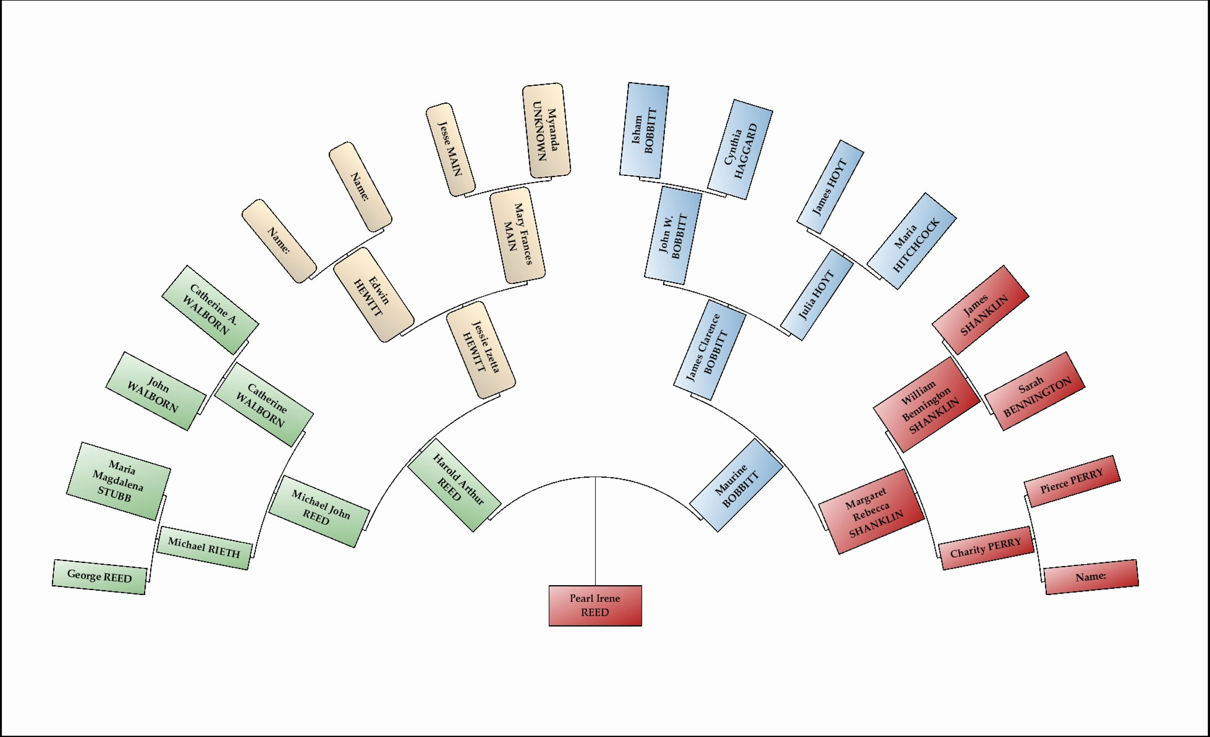 Example Of Family Tree Chart Best Of Family Tree Maker Making Colorful Charts Ancestry Blog
