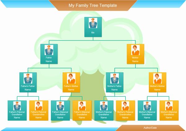 Example Of Family Tree Chart Elegant Family Tree software