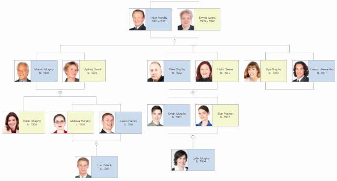 Example Of Family Tree Chart Elegant Family Tree Template software Free Family Tree Charts