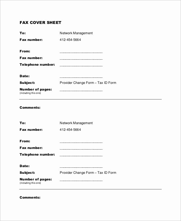 Example Of Fax Cover Sheet Beautiful Sample Fax Cover Sheet 9 Examples In Word Pdf