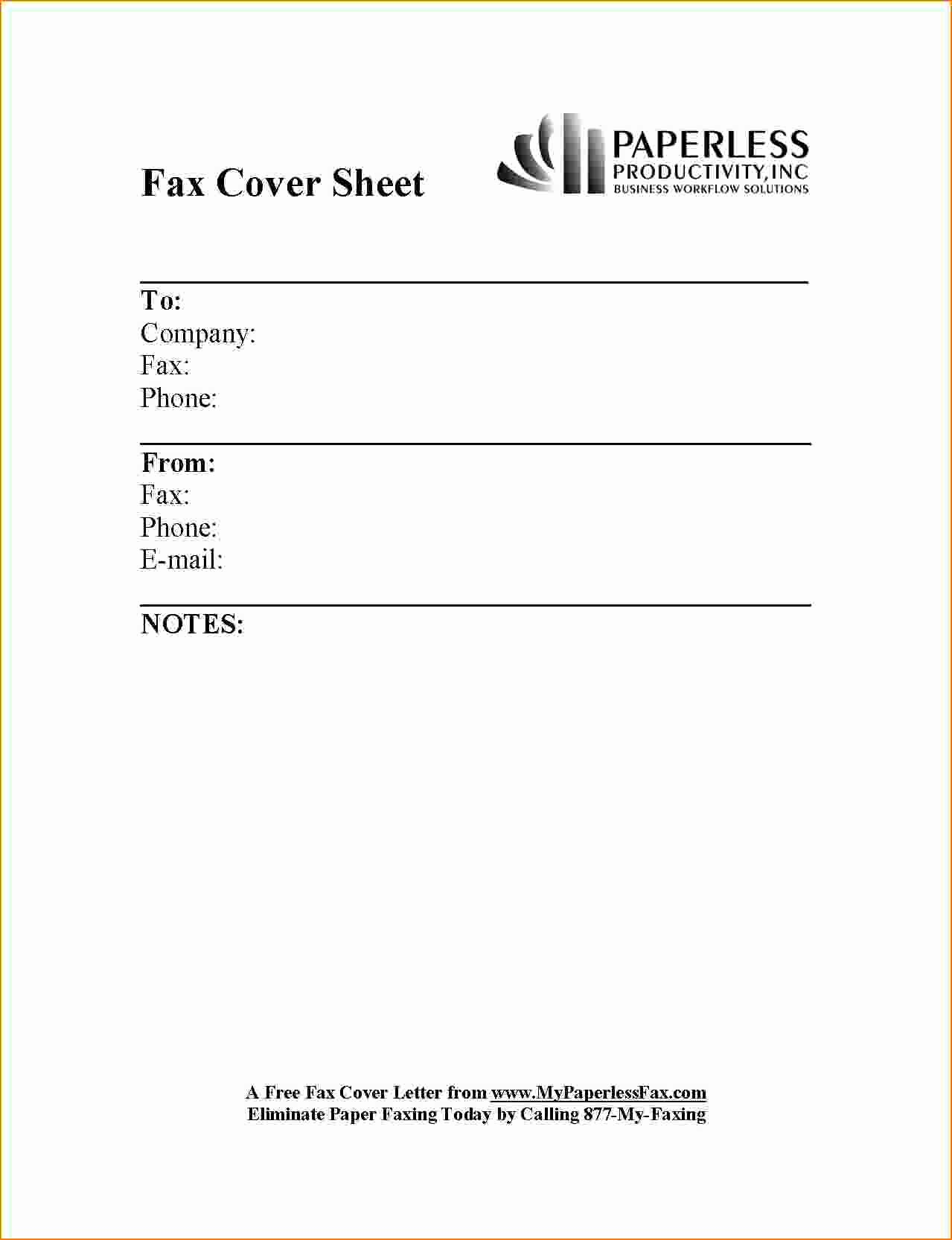 Example Of Fax Cover Sheet Lovely 6 Example Fax Cover Sheet