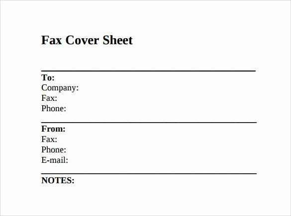 Example Of Fax Cover Sheet New 12 Fax Cover Sheet Samples Templates Examples