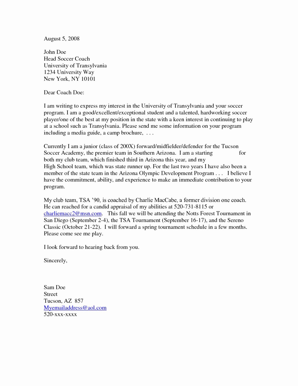 Example Of Letter Of Interest Elegant Sample Letters Of Interest for A Job 10
