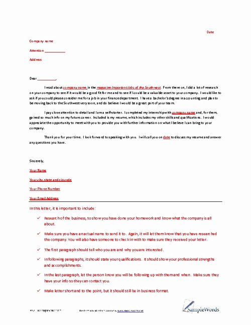 Example Of Letter Of Interest Fresh Letter Of Interest Example