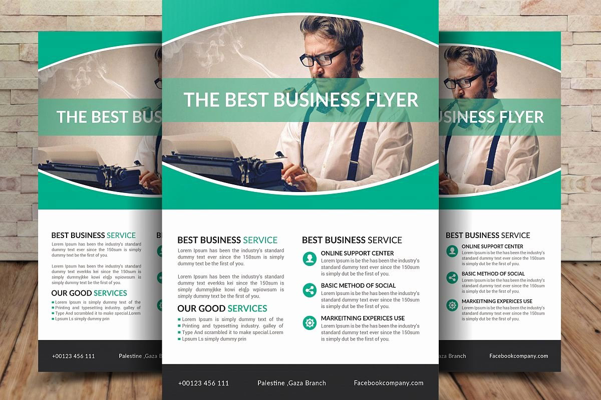 Examples Of Business Flyers Best Of Best Business Flyer