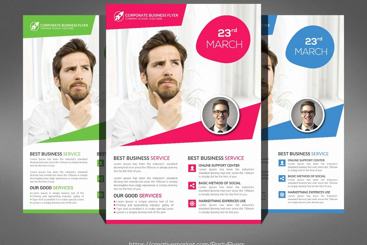 Examples Of Business Flyers Best Of Creative Business Flyer